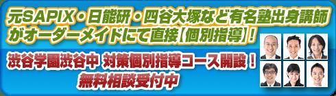 渋谷教育学園渋谷中学校別個別指導コースへ